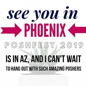 Who's going to Poshfest 2019